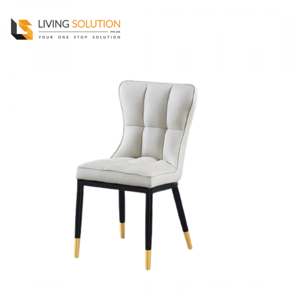 Joli Dining Chair Cream Grey