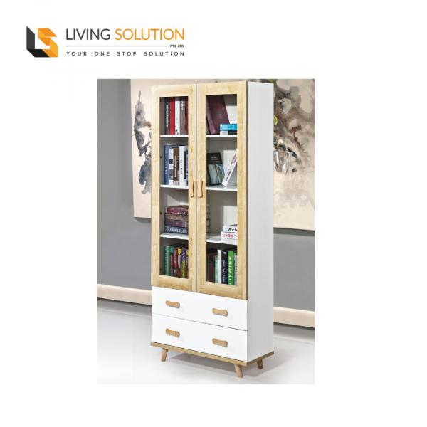 Nodi 2 Door Bookshelf