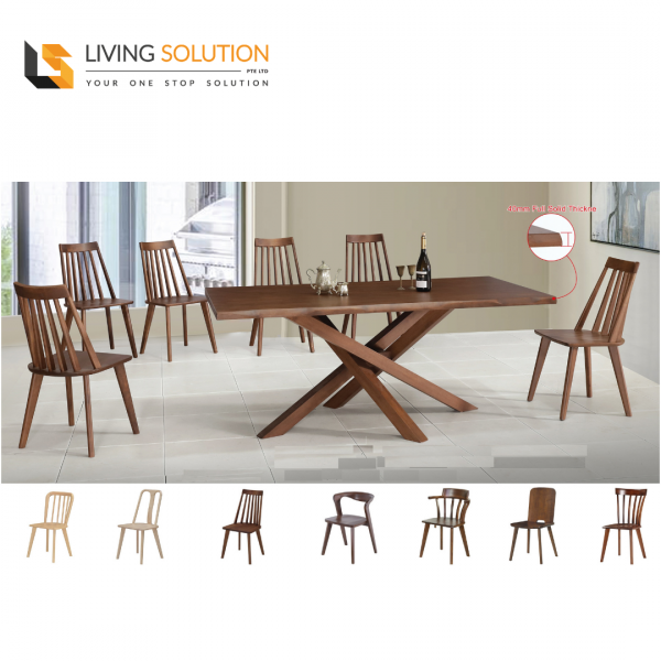 Dalgo Wooden Dining Table