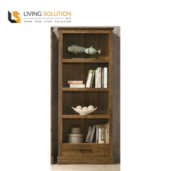Mason 1 Door Bookshelf