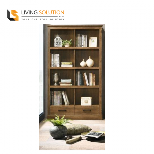 Mason 2 Door Bookshelf