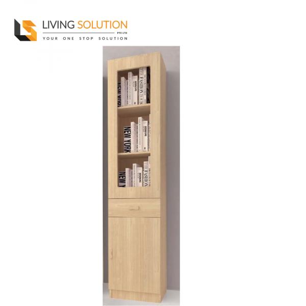 Ophir 1 Door Bookshelf